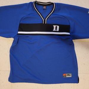 Nike Duke blue devils warm up jersey